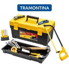 Kit de Herramientas para el Hogar con caja de herramientas - 19 piezas - Tramontina