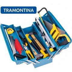 Kit de Herramientas para Constructor con caja de herramientas - 21 Piezas - Tramontina Master