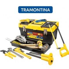 Kit de Herramientas para Plomero con caja de herramientas - 24 Piezas - Tramontina Master