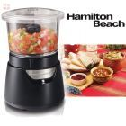Picador de Alimentos - Jarra de Vidrio - 175W - 700 ml - Hamilton Beach