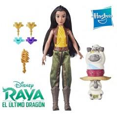 Muñeca Raya Set Fortaleza y Estilo - Raya y el Ultimo Dragon - Hasbro - Disney