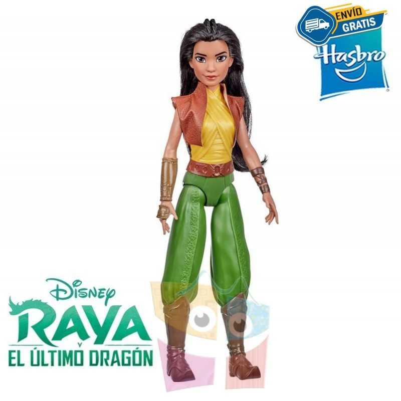 Muñeca Raya Clasica - Raya y el Ultimo Dragon - Hasbro - Disney