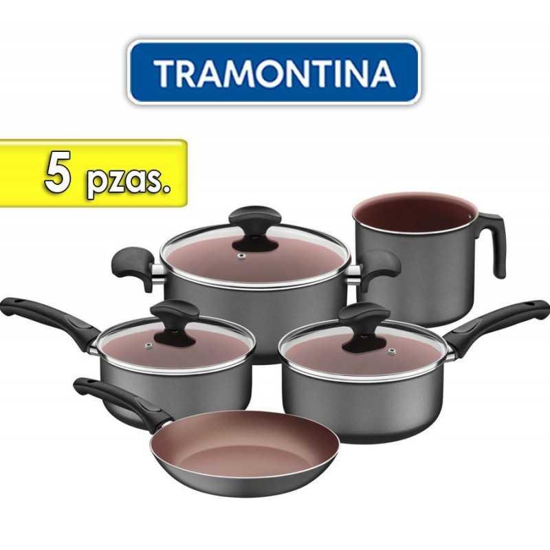 Juego de ollas de aluminio - 5 piezas - Tramontina - Vermont