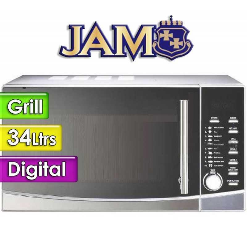 Microondas Jam - 34 Ltrs - D10034EL-B6 - Con Grill