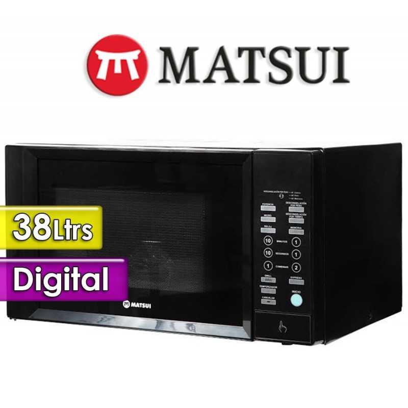 Microondas Matsui - 38 Ltrs - MT-HM3815N
