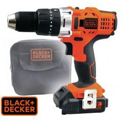 Taladro Atornillador Inalambrico 13mm - 14.4V - Black+Decker - HP14-B2C
