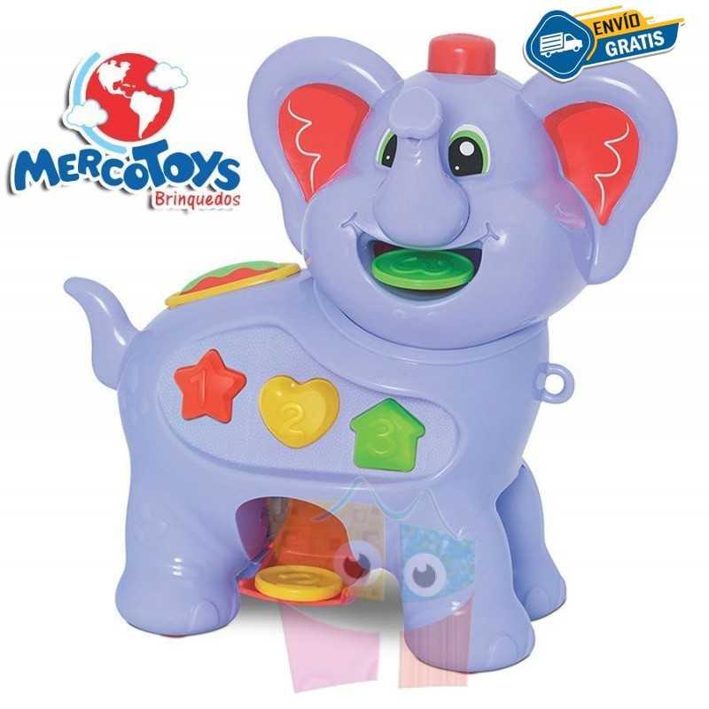Elefante Amiguito Comilon - MercoToys