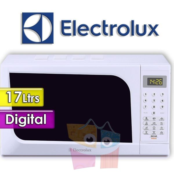 Microondas Electrolux - 17 Ltrs - EMDL17S5GPLW