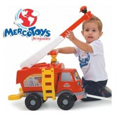 Gran Camión de Bomberos con Sonido - MercoToys