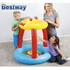 Pelotero Inflable - Bestway - Fisher Price Multicolor + Inflador