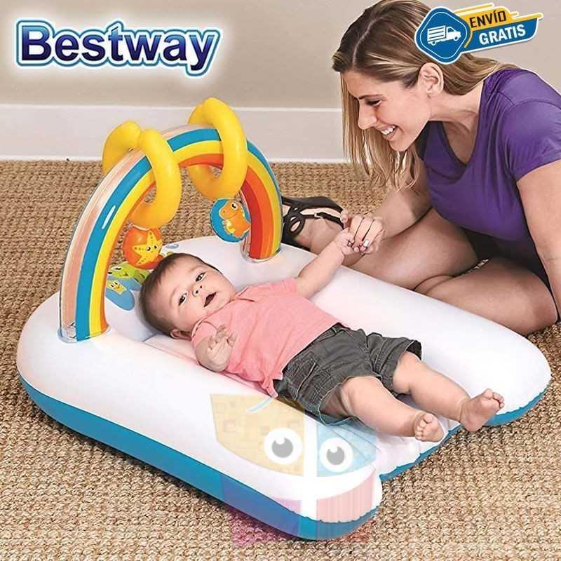 Cambiador Inflable para Bebes Arcoiris - Bestway
