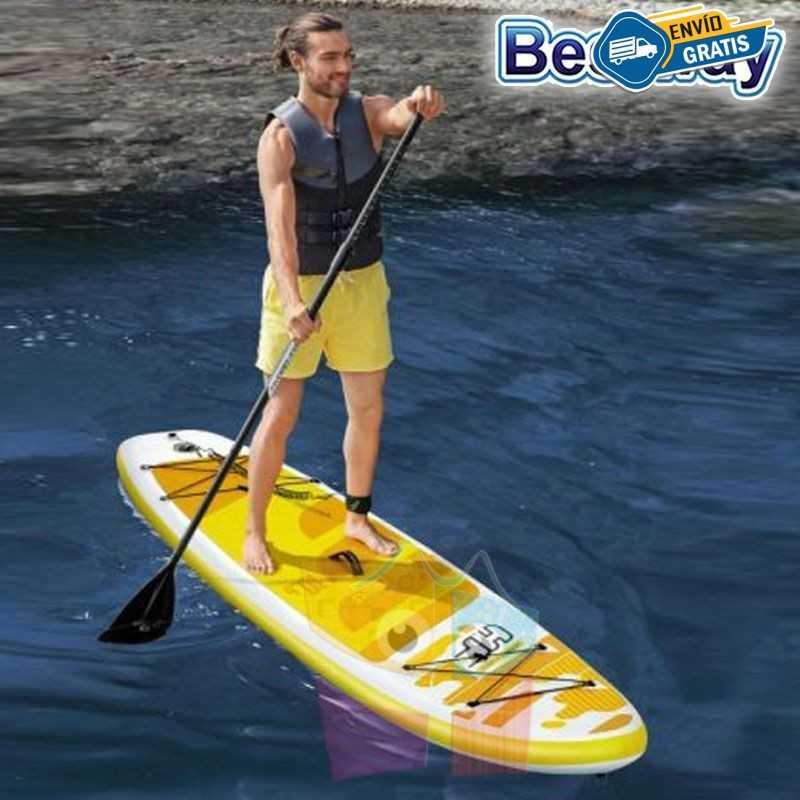 Tabla de Surf de Remo Inflable - Bestway - Aqua Cruise Hydro-Force