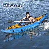 Kayak con remos inflable - 2,75 x 0,81 Mtrs. - Bestway - Cove Champion Hydro-Force