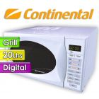 Microondas Continental - 20 Ltrs - 72WG - Con Grill