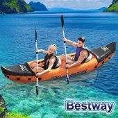Kayak con remos inflable - 3,21 x 0,88 Mtrs. - Bestway - Lite-Rapid Hydro-Force