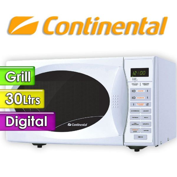 Microondas Continental - 30 Ltrs - 112WG - Con Grill