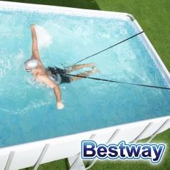 Correa de Resistencia para Natación - Bestway - Hydro-Pro Flowclear