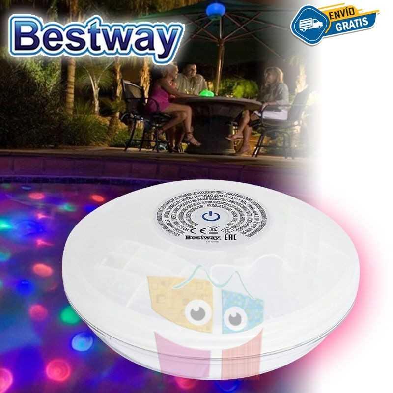 Luz Multicolor Flotante para Piscina - Bestway - Flowclear