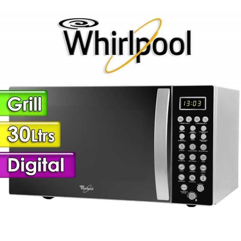 Microondas Whirlpool - 30 Ltrs - WM1111ADWC - Con Grill