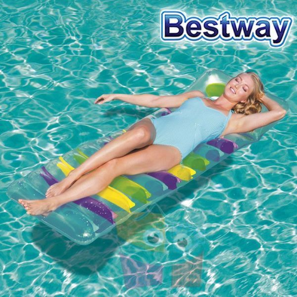 Colchoneta Inflable Deluxe Relax - 1,85 x 0,69 Mtr - Bestway - 43124