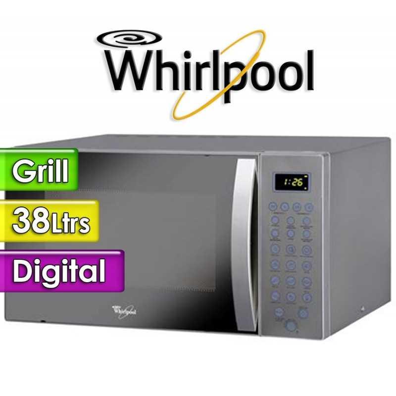 Microondas Whirlpool - 38 Ltrs - WM1114ADWC - Con Grill