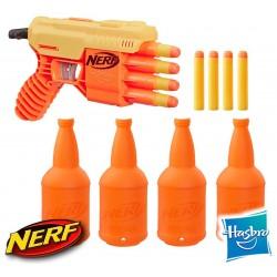 Set de Punteria Nerf FANG QS-4 Alpha Strike de 13 piezas - Hasbro