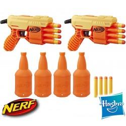 Set de Punteria Nerf Doble FANG QS-4 Alpha Strike de 18 piezas - Hasbro