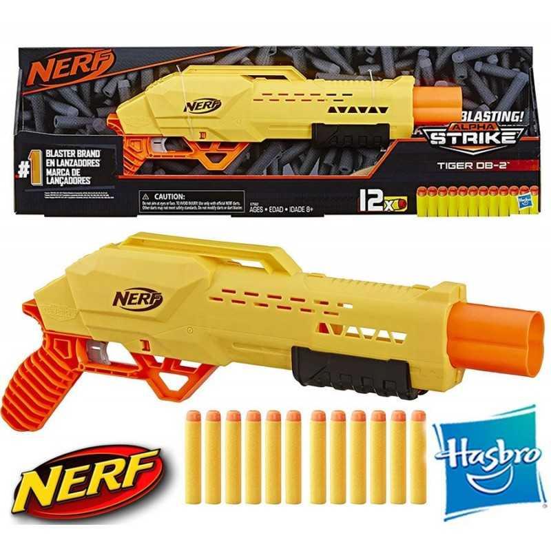 Lanzador Nerf Alpha Strike Tiger DB-2 - Hasbro