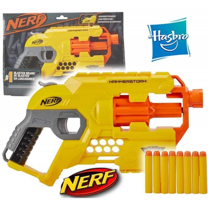 Lanzador Nerf Alpha Strike Hammerstonrm - Hasbro