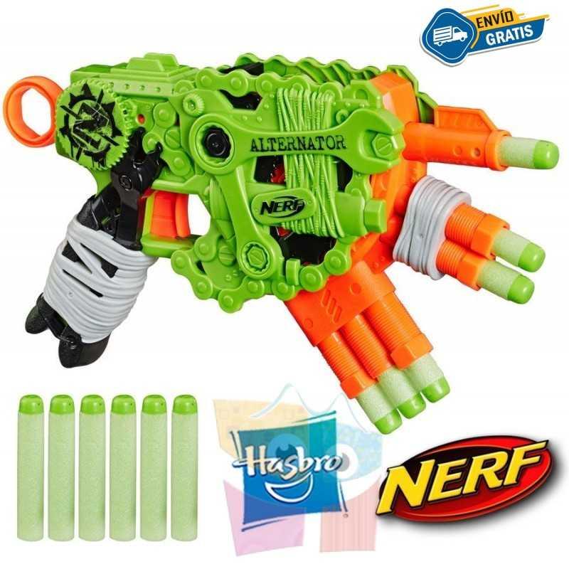 Lanzador Nerf Zombie Strike Alternator - Hasbro