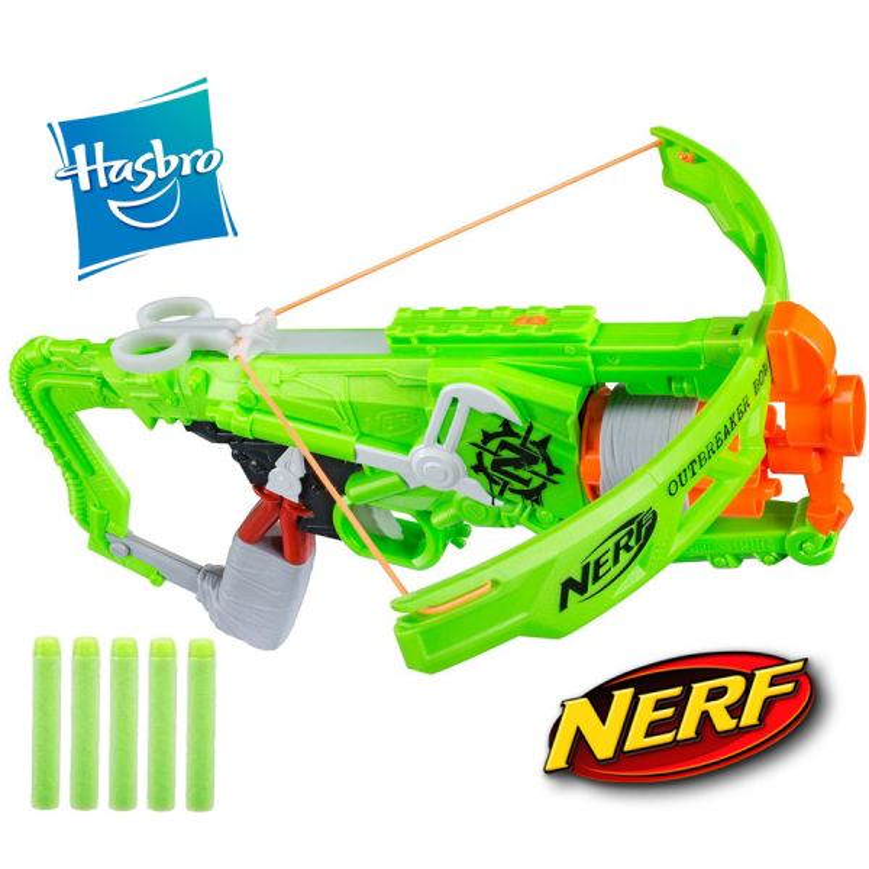 Lanzador Ballesta Nerf Zombie Strike Outbreaker Bow - Hasbro
