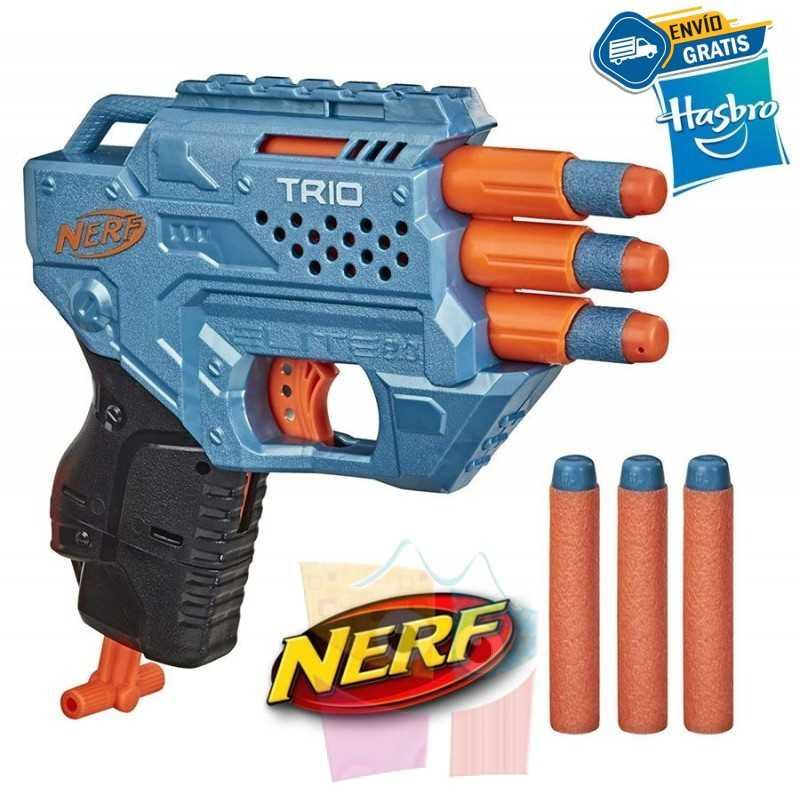 Lanzador Nerf Elite 2.0 Trio TD-3 - Hasbro