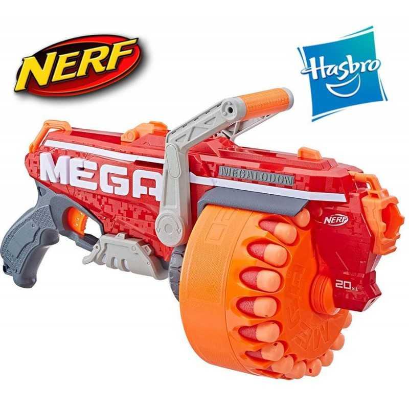Lanzador Nerf N-Strike Mega Megalodon - Hasbro
