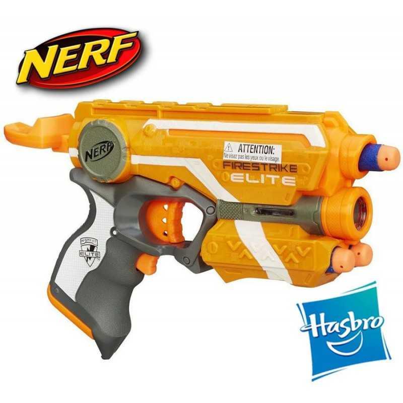 Lanzador Nerf N-Strike Elite Firestrike - Hasbro - Con rayo de luz
