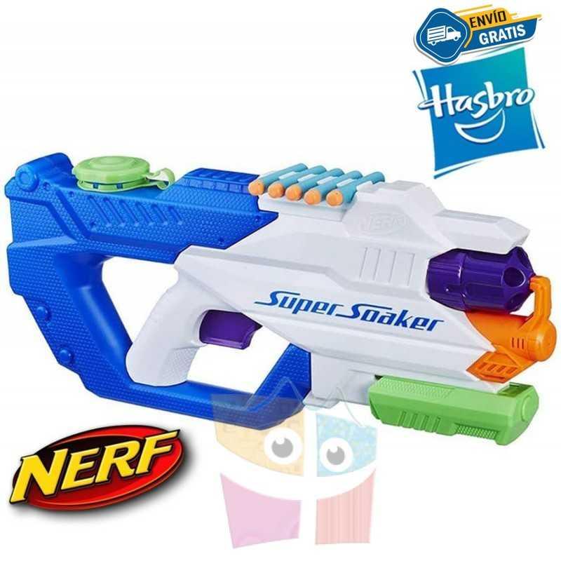 Lanzador de Agua y Dardos Nerf Super Soaker Dartfire - Hasbro
