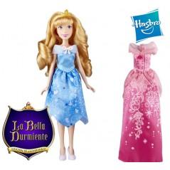 Muñeca Aurora Celebracion de Cumpleaños - Disney Princess Extra Fashion Doll - Hasbro