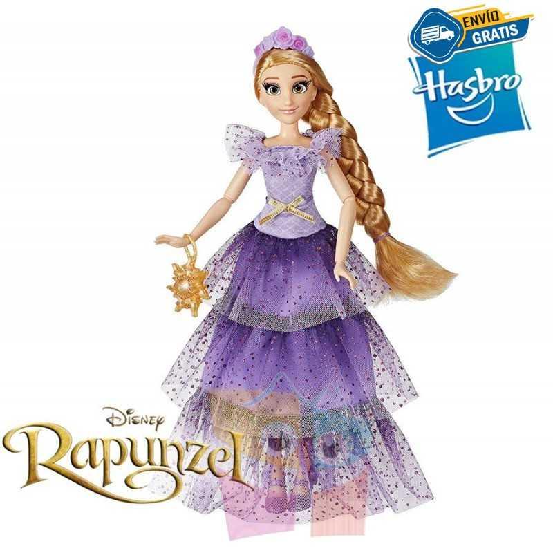 Muñeca Rapunzel - Style Series - Disney Princess - Hasbro