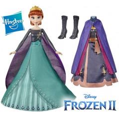 Muñeca  Transformación de la Reina Anna - Frozen 2 - Disney Princess - Hasbro