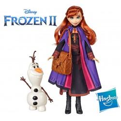 Muñeca Anna y Olaf - Frozen 2 - Disney Princess - Hasbro