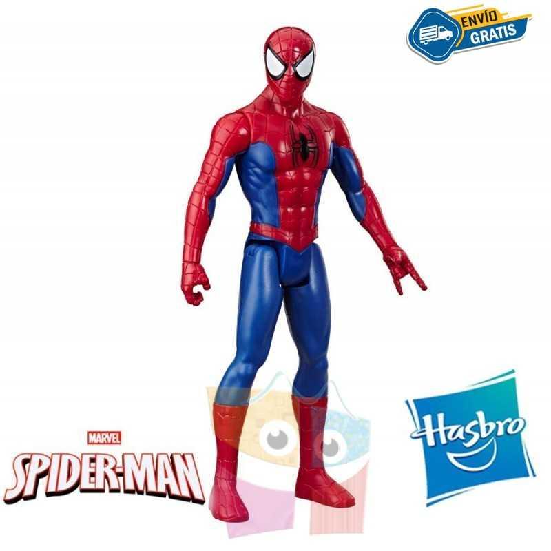 Muñeco Spider Man 30 cms - Hasbro - Titan Hero Series