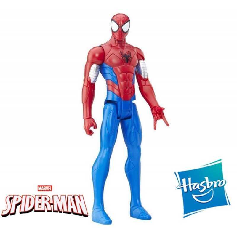 Muñeco Spider-Man Blindado 30 cms - Hasbro - Titan Hero Series