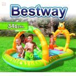 Piscina Bestway - 53030B - 346 Ltrs. Infantil Safari - Inflable