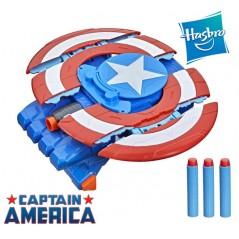 Escudo Lanzador de Dardos Capitán América Marvel Avengers - Hasbro