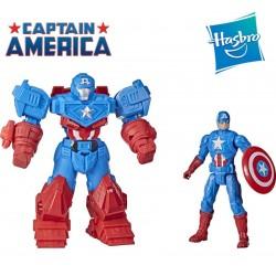 Muñeco Ultra Armadura Capitan America - Hasbro - Mech Strike Marvel Avengers