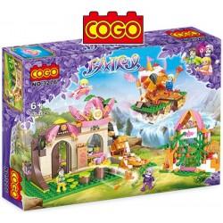 Mundo Magico de Adas - Juego de Construcción - Cogo Blocks - 604 piezas