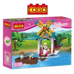Viaje en Barco Romantico - Juego de Construcción - Cogo Blocks - 176 piezas