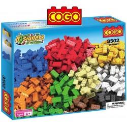 Cogo Diseñadores - Juego de Construcción - Cogo Blocks - 550 piezas