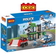 Asalto al Banco - Juego de Construcción - Cogo Blocks - 606 piezas