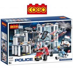Escape de Prisión - Juego de Construcción - Cogo Blocks - 950 piezas