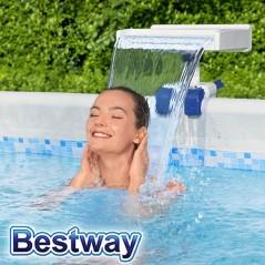 Cascada Relajante con Luz LED para Piscina - Bestway - Flowclear
